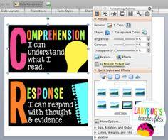 design with the best resolution in powerpoint ladybug teacher