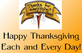 celebrate thanksgiving everyday