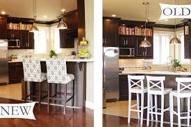 kitchen island with breakfast bar and stools rustic barnwood