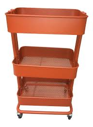 Raskog Cart Amazon Com Raskog Home Kitchen Bedroom Storage Utility Cart Red