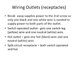 residential wiring unit 3 u2013 installation and planning chaps ppt
