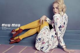 elle fanning elizabeth olsen are the perfect faces of miu miu for