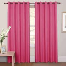 Pink Laminate Flooring Baby Nursery Blockout Curtains For Window Treatment And Decors