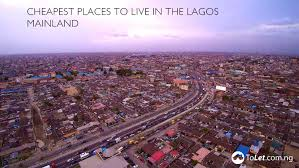 top 4 most affordable places to live in lagos mainland tolet insider