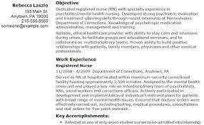 New Grad Nursing Resume Examples by New Registered Nurse Resume Sample Sample Of New Grad Nursing