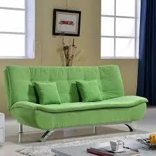 canapé convertible vert canapé convertible vert amande salon meubles maison le meilleur