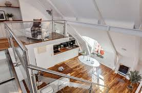 wohnideen in dachgeschoss dachgeschoss loft in stockholm kreative wohnideen interior