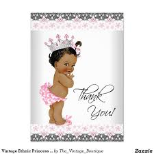 vintage airplane thank you card baby shower thank you cards