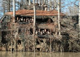 Redneck Hay Bale Blind Outrageous Hunting Stands And Blinds Outdoor Life