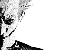 batman arkham joker drawing
