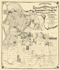 Sacramento Ca Zip Code Map by Old City Map Sacramento California Landowner 1908