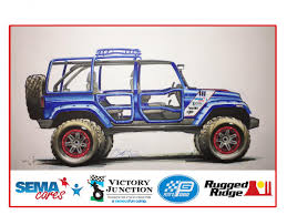 sema jeep yj rugged ridge to feature custom jeep in grand lobby at sema show