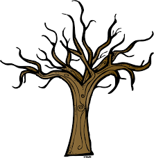 falling clipart bare fall tree pencil and in color falling