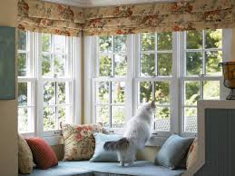 exterior interesting bay windows design with pella windows and