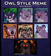 Art Owl Meme - owl style meme pash by aboveclouds on deviantart