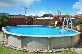 semi inground pool photos the pool factory