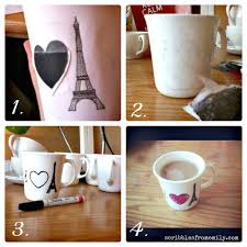 really cool mugs tutorial dishwasher safe sharpie mugs scribbles from emily