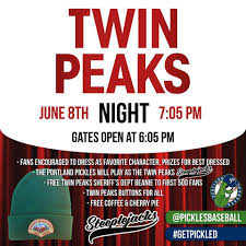Twin Peaks Map Portland Pickles Twin Peaks Night At Walker Stadium In Portland