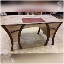 Kleiner Holz Schreibtisch Fertig Meisterstück Schreibtisch Rost Eiche Holz