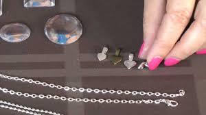 diy glass pendant necklace images Glass pendant necklace diy tutorial jpg