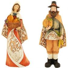 thanksgiving pilgrim figurines 10 inch adorable collectible thanksgiving figurines day make any
