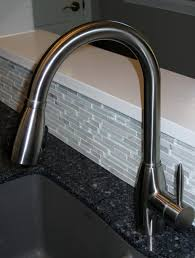 kitchen design kohler high arc kitchen faucet with lever handle