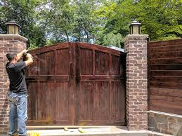 cedar gates doors and fences in new jersey and new york u2013 wood touch