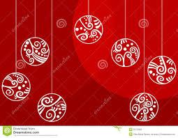 ornaments greeting card stock illustration image 35722895