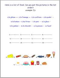 elementary french worksheets worksheets