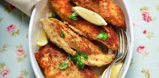 comment cuisiner des blancs de poulet blancs de poulet panés facile et pas cher recette sur cuisine