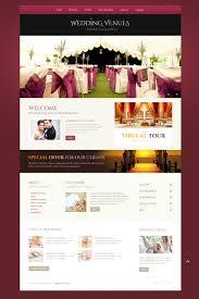 wedding venues responsive website template 44755