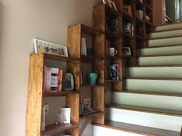 stairway bookshelves 7 steps with pictures