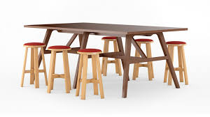 bar height conference table riff ofs