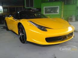 458 italia specifications 458 italia 2011 4 5 in selangor manual coupe yellow for rm