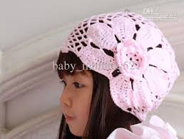 lace headwear 2018 cotton cap baby lace hats babies handmade headwear kids