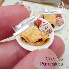 petites cuisines am ag s miniature crêpes for mardi gras parisminiatures etsy com