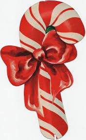 sweetness candy canes vintage christmas christmas candy