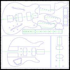 fender jazzmaster guitar templates electric herald jazzmaster