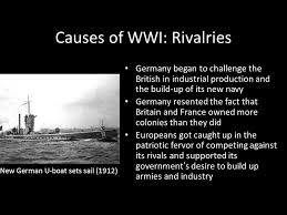 Challenge Causes Its Unit V Modern Era Present Day Causes Of Wwi Rivalries Germany