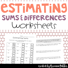 this packet includes 2 two sided worksheets for practice with