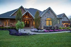 custom built homes com custom built homes rustic exterior cincinnati by wieland