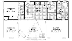 ranch house floor plans home design simple open house plans 7 small ranch floor