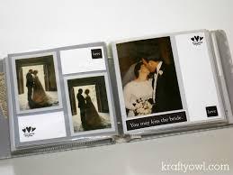 wedding scrapbook album my s wedding scrapbook krafty owl