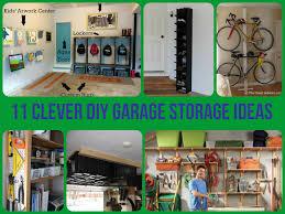 diy garage cabinet ideas 11 clever diy garage storage ideas jpg