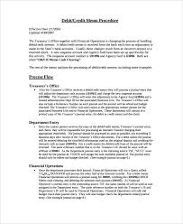 sample credit memo 7 documents in pdf wordmemo invoice