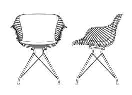 Wire Desk Chair Overgaard U0026 Dyrman