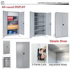 Small White Storage Cabinet by Factory Price Swing Door Laboratory Chemical Steel Storage