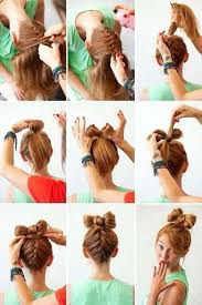 on the go hairstyles cute updos for girls on the go hairstyles nail art beauty and