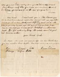 amistad john quincy adams history thank you note from the rebels