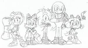 sonic boom coloring pages on cartoons with printable 14 within